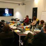 """Keine Idee für das nächste Projekt? Manchmal hilft ein TedTalk, wie dieser: Ken Robinson """"Do schools kill creativity?""""."""