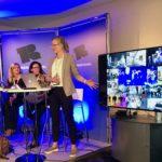 Lea Stöver, Creative Europe Desk KULTUR stellt die EU-Foerderprogramme Creative Europe im Rahmen des Panels Explore Europe Gateyways for Funding vor.