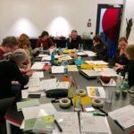 Ohne Texte geht es nicht. Was Du beim Schreiben eines Antrags beachten solltest, erfährst Du im Workshop Von der Idee zum antragsfähigen Konzept.