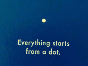 Jede Projektidee beginnt mit einem Punkt.
