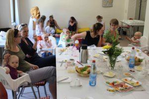 Der Kinderwagentreff des SOS Familienzentrums